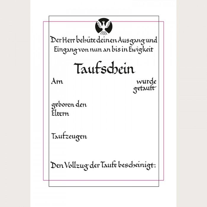 Groß Taufschein Vorlage Galerie - Beispiel Wiederaufnahme Vorlagen ...