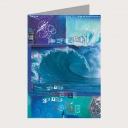 Faltkarte «Die blaue Schöpfung»