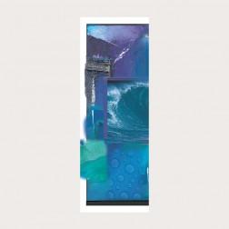 Lesezeichen «Die blaue Schöpfung»