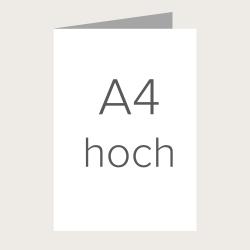 Faltkarte A4 zum Selbergestalten