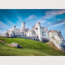 Bildbeschreibung - Eine feste Burg