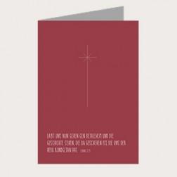 Faltkarte Weihnachten «Nach Bethlehem»
