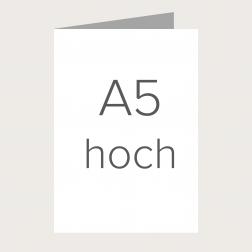 Faltkarte A5 zum Selbergestalten