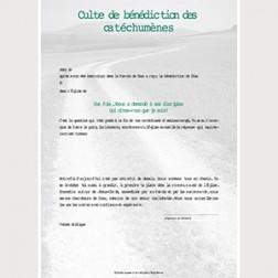 Konfirmationsurkunde Texte francais