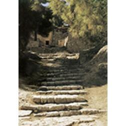Römische Treppe in Jerusalem