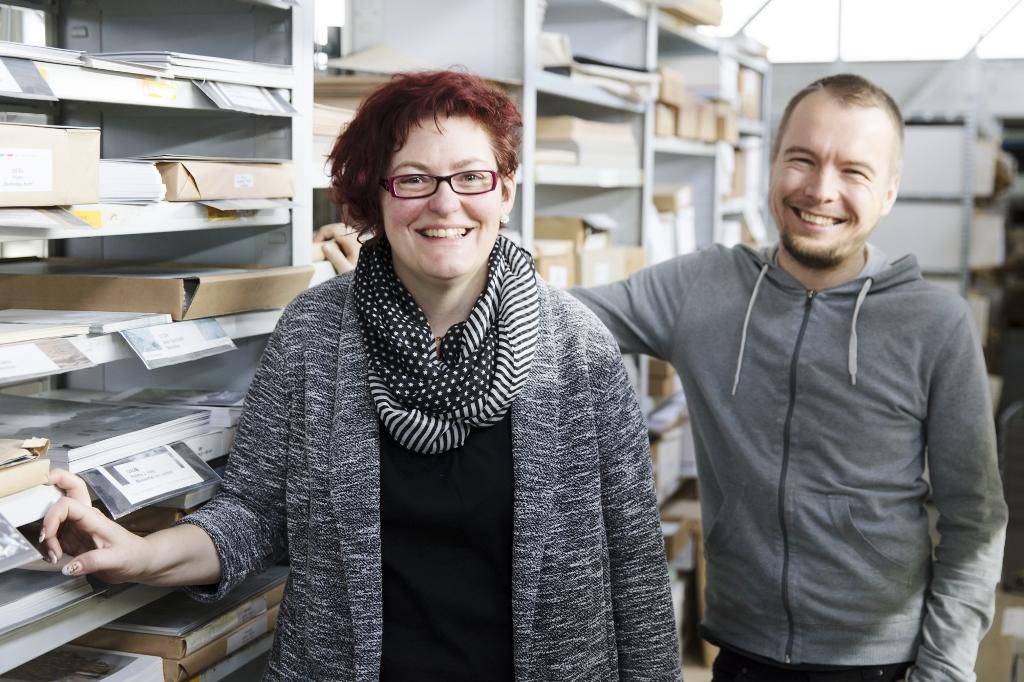 Das Team von Kirchenid, Sabine von Allmen und Peter Elstner.